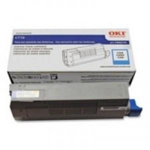 Oki C710/C711 Cyan Toner Cartridge Code 44318607