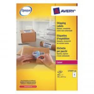 Avery Laser Lbls 100 Shts Pk L7165-100