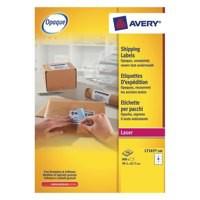 Avery Addressing Labels Laser Jam-free 8 per Sheet 99.1x67.7mm White Ref L7165-100 [100 Sheets]