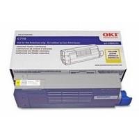Oki C711 Toner Cart Yell 44318605