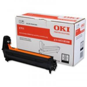 Oki C711 Ep C711 Black Drum Unit Code 44318508