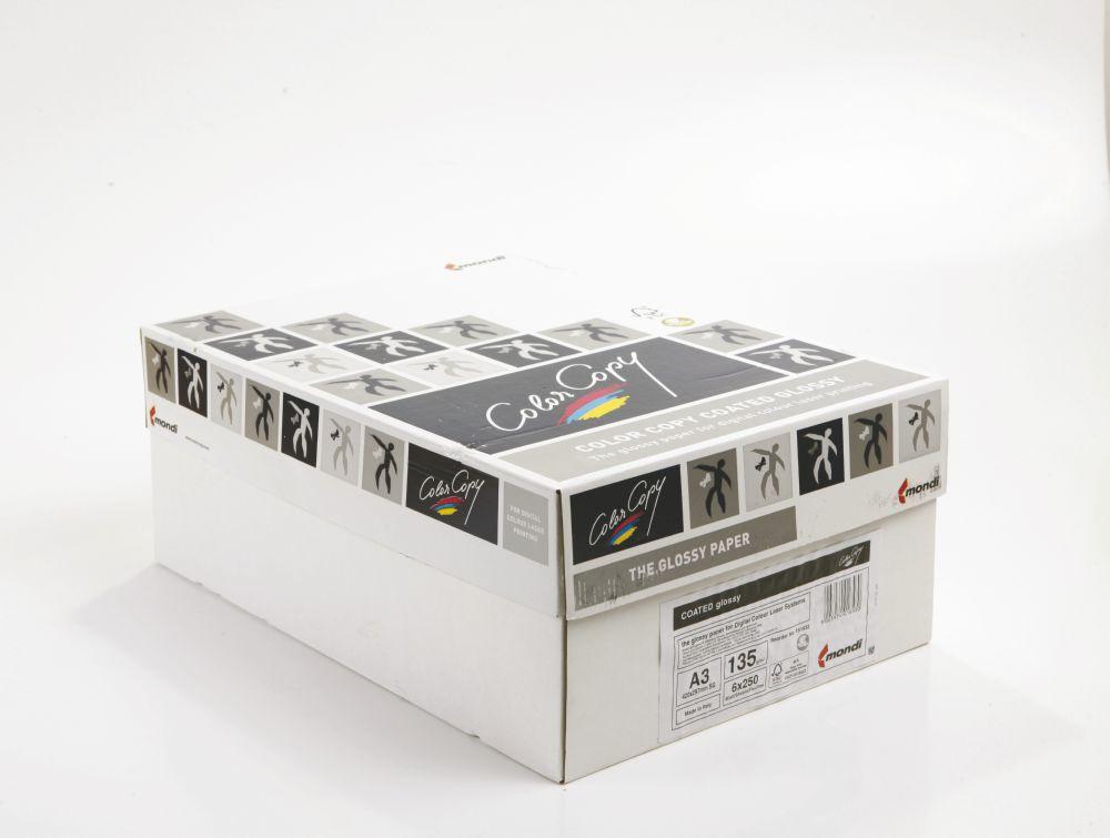 Color Copy A3 Gloss Wht FSC4 135gm 250s