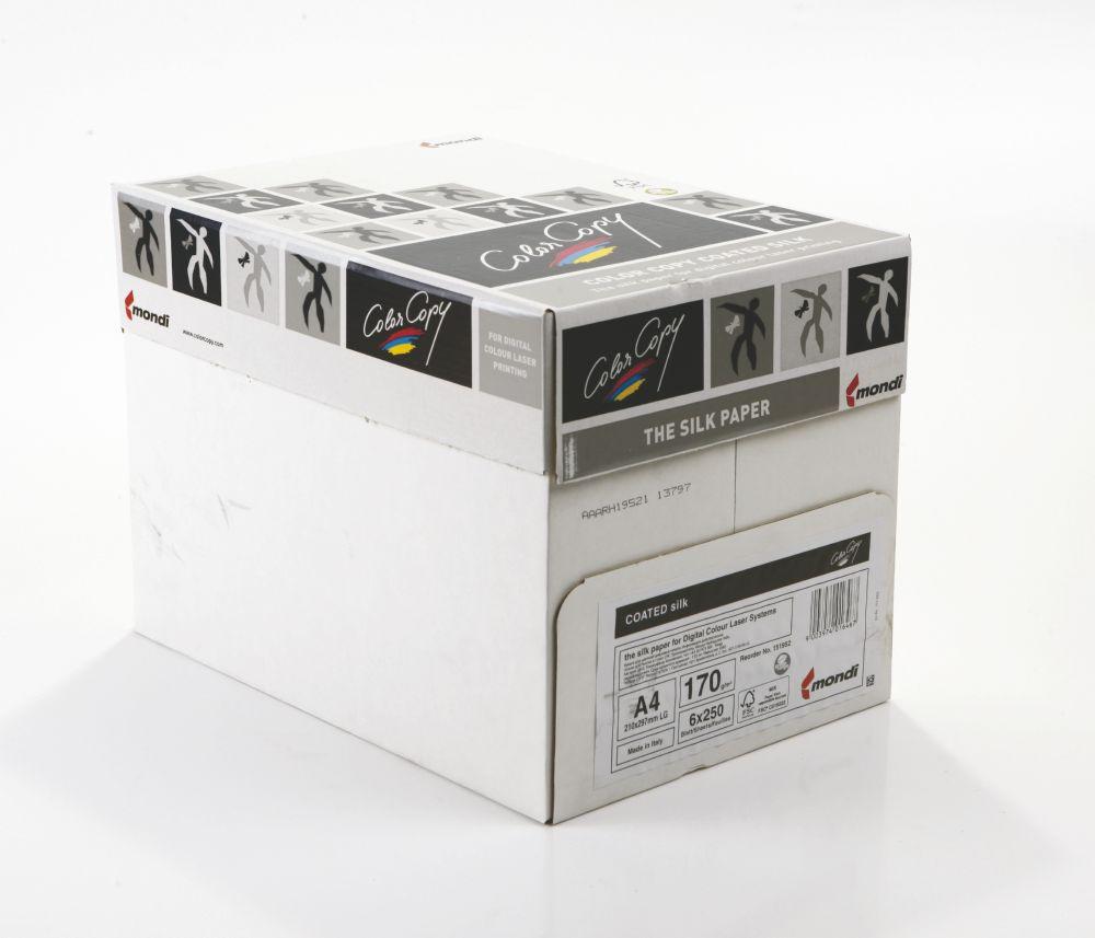 Color Copy Paper Coated Silk White FSC4 SRA3 450x 320mm 200gm Pack 250