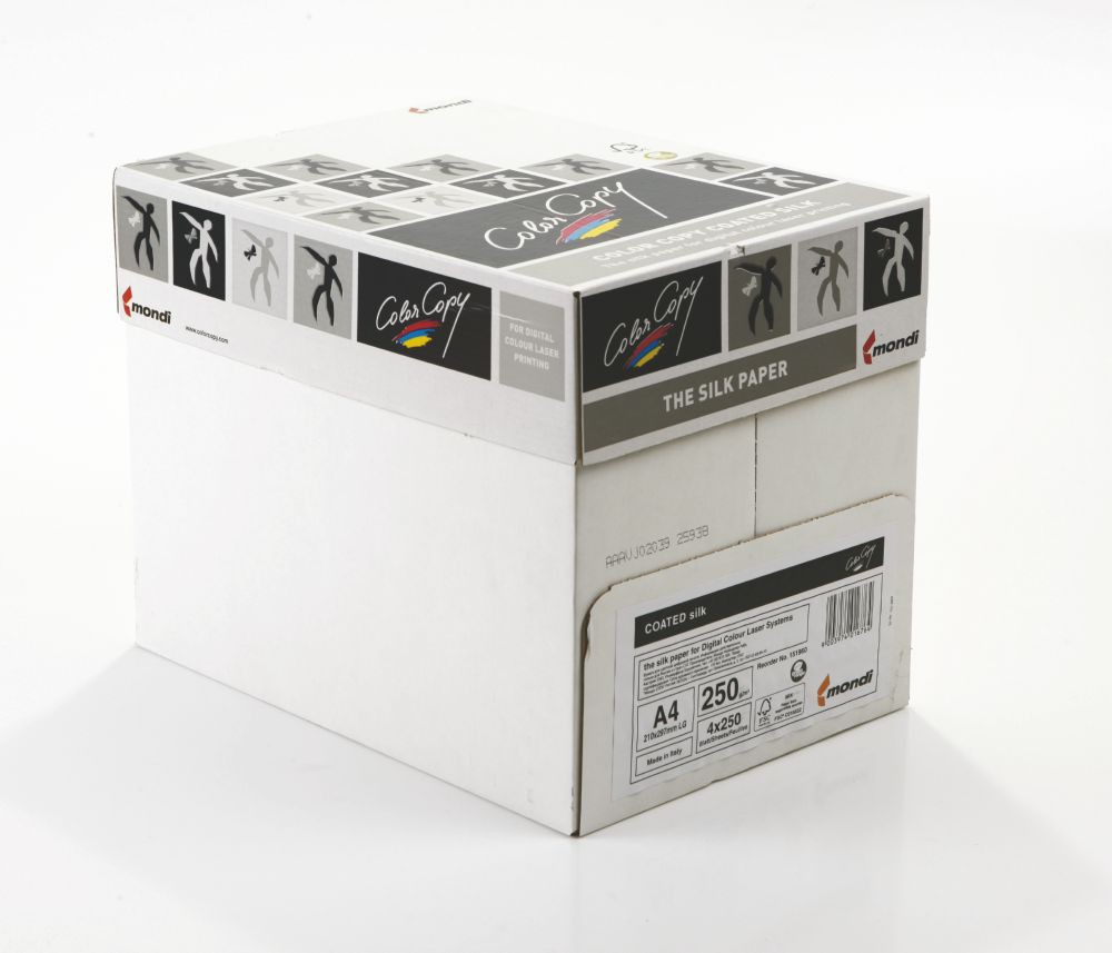 Color Copy A4 Silk Wht FSC4 250gm 250s