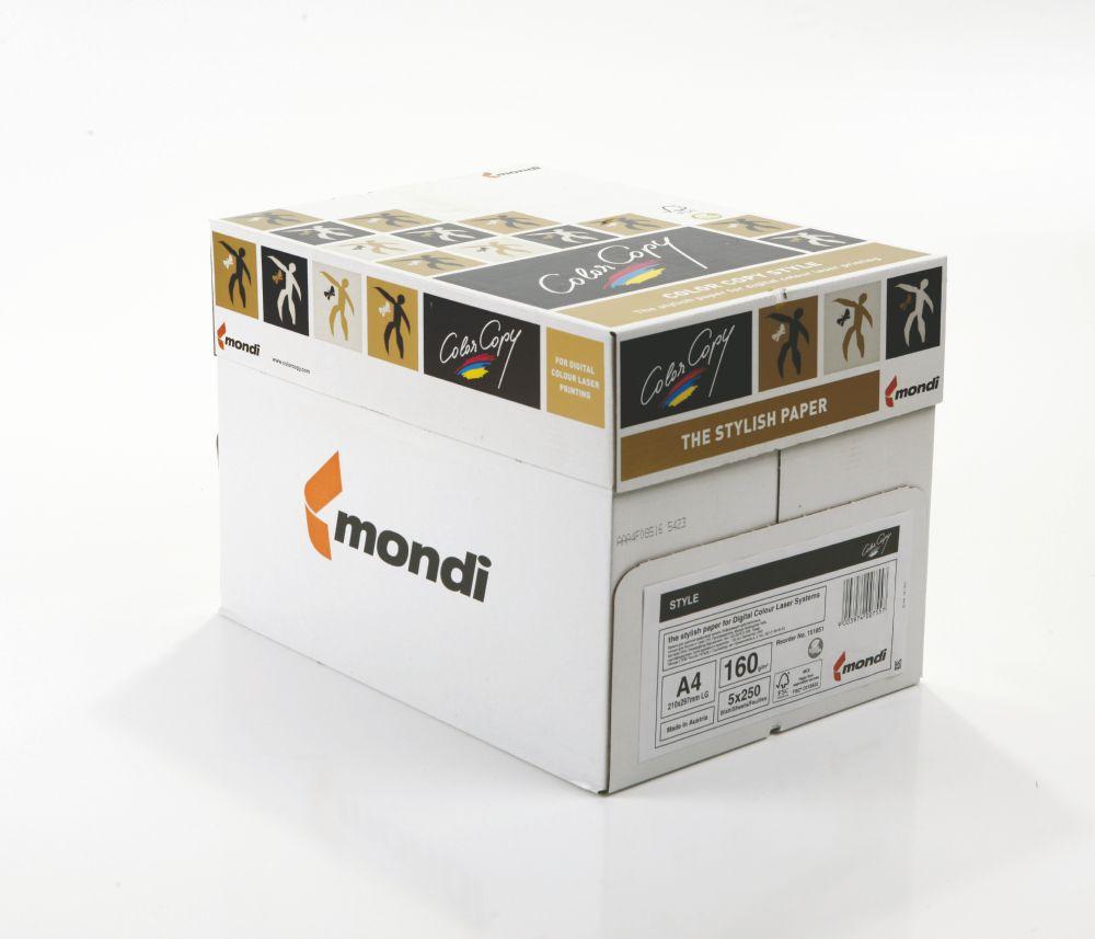 Color Copy Paper White Style FSC4 A4 210x297mm 160gm pack 250