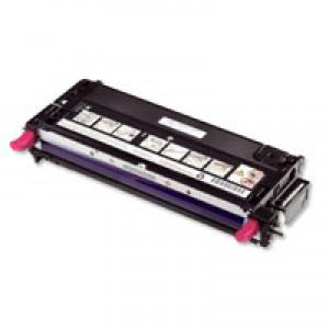 Dell 3130 Standard Capacity Magenta Toner Cartridge 3K Code 593-10296