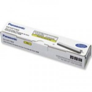 Panasonic Laser Toner Cartridge Page Life 4000pp Yellow Ref KXFAT508X