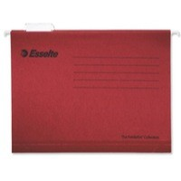 Esselte Pendaflex Standard Lateral File A4 Red Pack of 25 93617