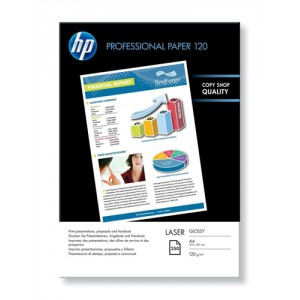 HP Professional Glossy Laser Paper A4 120gsm Pack 250 Code CG964A