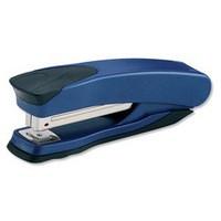 Rexel Taurus Stapler Metallic Blue Full Strip 20 Sheet Capacity Code 2100005