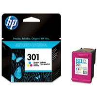 Hewlett Packard [HP] No. 301 Inkjet Cartridge Page Life 165pp Colour Ref CH562EE#UUS