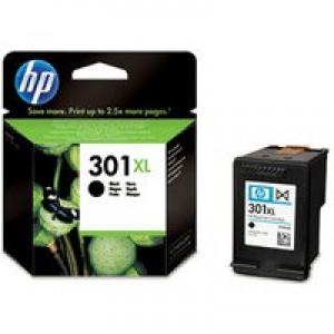 Hewlett Packard [HP] No. 301XL Inkjet Cartridge Page Life 480pp Black Ref CH563EE#UUS