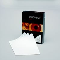 Conqueror Paper Digital Laid Brilliant White FSC4 A4 210x297mm 90Gm2 Watermarked Pack500
