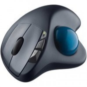 Logitech Wireless Trackball Mouse M570 Black 910-001882