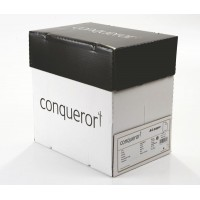 Image for Conqueror Paper Texture Laid High White FSC4 A4 210x297mm 90Gm2 Watermarked Pack 500