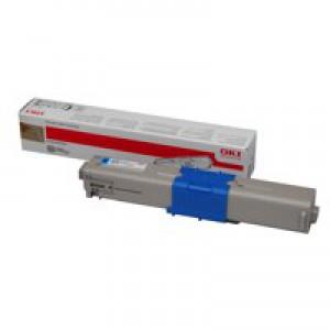 Oki 510/530 Cyan Toner Cartridge High Capacity 5K Code 44469724