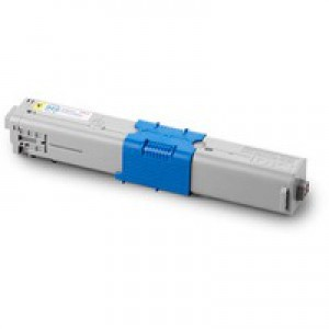 Oki 510/530 Yellow Toner Cartridge High Capacity 5K Code 44469722