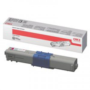 Oki C310/330/510/530 Magenta Toner Cartridge 2K Code 44469705