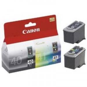 Canon PG40 & CL41 Inkjet Cartridges Colour/Black Code 0615B036