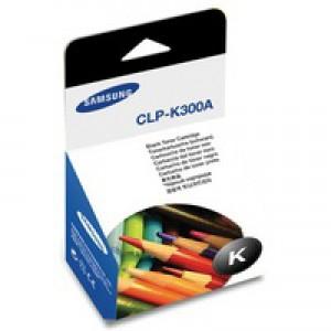 Samsung Laser Toner Cartridge Page Life 2000pp Black Ref CLP-K300A/ELS
