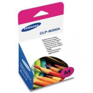 Samsung Laser Toner Cartridge Page Life 1000pp Magenta Ref CLP-M300A-ELS