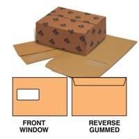 Mailer Gummed Window Manilla Oversize C5 Pack 500