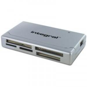 Integral Memory Card Reader Multiformat USB LED Ref INCRMULTI