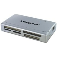 Integral Memory Card Reader Multiformat USB LED Ref INCRMULTI