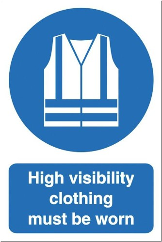 Stewart Superior Foam Board Sign High Visibility Clothing 200x300mm Ref FB060