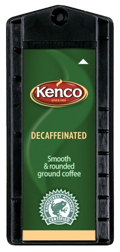 Kenco Decaffeinated Coffee Singles Capsule 6.5g Ref A01143 [Pack 160]