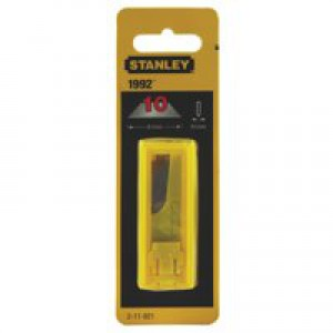 Stanley Replacement Spare Blades Heavy-Duty 1992 Pack 10 Code 2-11-921