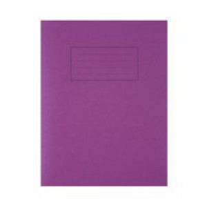 Silvine Exercise Book 9x7 80 Page Purple Code EX100