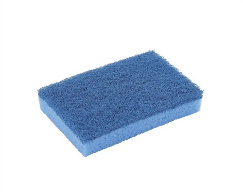 Sponge Scourer High Quality Non Scratch Blue [Pack 10]