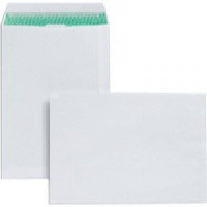 Basildon Bond Envelopes Recycled Pocket Peel and Seal 100gsm C4 White Ref L80281 [Pack 50]