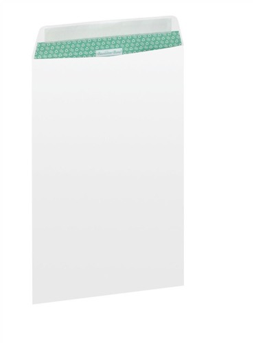 Basildon Bond Envelopes Recycled Pocket Window Peel and Seal 100gsm C4 White Ref B80285 [Pack 50]