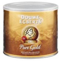 Douwe Egberts Instant Coffee from 100 percent Arabica Beans for 280 Cups Tin 500g Ref A03023