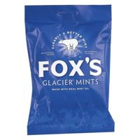 Fox^s Glacier Mints Wrapped Boiled Sweets in Bag 175g Ref A07577