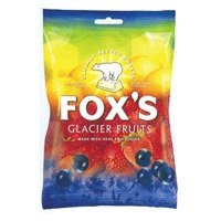 Fox^s Glacier Fruits Wrapped Boiled Sweets in Bag 175g Ref A05164