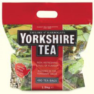 Yorkshire Tea Bags Ref A03059 [Pack 480]