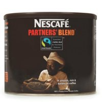 Nestle Partners Blend Instant Coffee Fairtrade from 100 percent Arabica Beans Tin 500g Ref 5217798