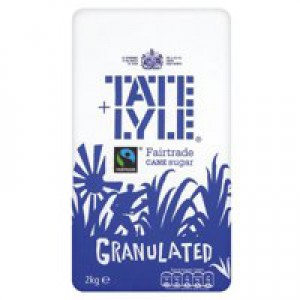 Tate and Lyle Granulated Sugar Bag 2kg Ref A03912