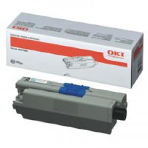 Oki C310/330/510/530 Black Toner Cartridge 3.5K Code 44469803