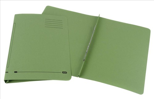Elba Ashley Flat File 315gsm Capacity 35mm Foolscap Green Ref 100090282 [Pack 25]