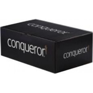 Conqueror Wove High White DL Envelope FSC4 110x220mm Super Seal Banded 50 Window 22Up 17Lhs