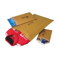 Jiffy Padded Bag Envelopes No.1 Brown 165x280mm Ref JPB-1 [Pack 100]