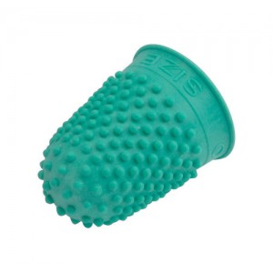 Quality Thimblette Rubber Size 0 Green Pack 10 Code 265478