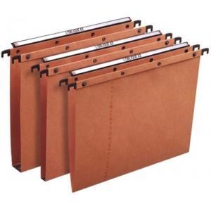 Elba Suspension File Manilla Vertical for 100sheet V-Base A4 Orange Ref 100330270 [Pack 25]