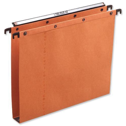 Elba Ultimate A20 Suspension File Manilla 30mm Foolscap Orange Ref 100330314 [Pack 25]