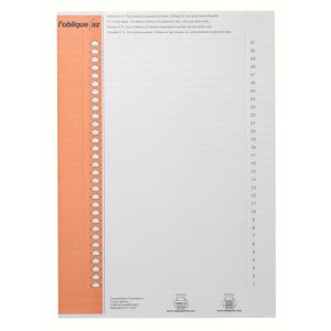 L Oblique Inserts for Suspension File Lateral Pack 10 Code L130200