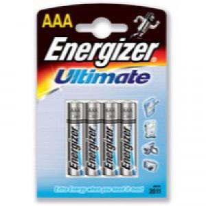 Energizer HighTech Battery Alkaline LR03 1.5V AAA Ref 637445  [Pack 4]
